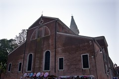 IMGP4755 (hlavaty85) Tags: venezia venice benátky burano chiesa church kostel martino martin campanilla zvonice tower věž