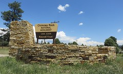 Chimney Rock National Monument Sign (Archuleta County, Colorado) (courthouselover) Tags: colorado co archuletacounty chimneyrocknationalmonument nationalmonuments nationalparksystem nationalparksigns sanjuannationalforest nationalforests unitedstatesforestservice rockymountains northamerica unitedstates us