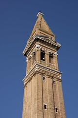 IMGP4750 (hlavaty85) Tags: venezia venice benátky burano chiesa church kostel martino martin campanilla zvonice tower věž