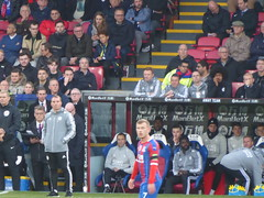 Leicester bench watches on (lcfcian1) Tags: crystal palace leicester city cpfc lcfc selhurst park epl bpl premier league football sport england crystalpalace leicestercity selhurstpark premierleague london brendanrodgers
