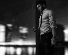 Time. (AethmorotSL) Tags: secondlife second life sl model modeling male fashion