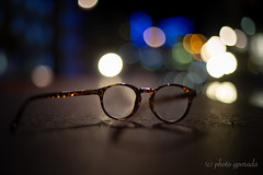 Glasses at Street Level (gporada) Tags: glasses nightly bokeh wideopenshot streetlevel sonya7ii ilce7m2 canon50mm18 niftyfifty