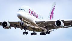 Airbus A380-861 A7-APC Qatar Airways (William Musculus) Tags: london heathrow airport spotting aviation plane airplane lhr egll a7apc qatar airways airbus a380861 qtr qr a380800