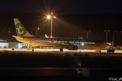 Boeing 737-8GJ Transavia (foire du livre Brive 2019) // F-HTVO (Luc_slf) Tags: boeing boeing737 boeing737800 boeing7378gj 737 737800 7378gj transavia green longexposure light briveairport aeroportbrive aeroportbrivevalléedeladordogne aéronautique aeronautics aeroport airport avion aviation spotting spotter planespotting planes planespotter nightshot night