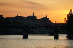 Musée d'Orsay, Pont des Arts (jutta.mayer) Tags: paris pontdesarts muséedorsay