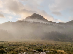 The morning ambience after waking up (valentinlelong) Tags: moutain sky fog cloud morning ambience trek trekking landscape wild outdour