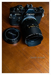 Canon FTb (Claudio Arriens) Tags: canonftb canonfd2850mmf35ssc vintage camera canon fd slr classiccamera zoom zoomlens lens lente madeinjapan