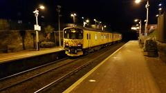 Network Rail Class 950 950001 passing Maryhill Station Platform 1 on service 2Q08 [Rear Shot] (09-11-19) (Rikki Cameron) Tags: trains networkrail class950 class150 sprinter trackinspection trackrecordingunit 950001 2q08 maryhill fortwilliam mossend brel