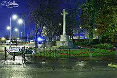 The Cenotaph, Bloxwich 09/11/2019 (Gary S. Crutchley) Tags: remembrance sunday peace tree bloxwich darlaston cenotaph great war world one two ii i 1 2 second uk britain england united kingdom urban town townscape walsall walsallflickr walsallweb black country blackcountry staffordshire staffs west midlands westmidlands nikon d800 history heritage local night shot nightshot nightphoto nightphotograph image nightimage nightscape time after dark long exposure evening travel street slow shutter raw