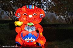 Chinese Zodiac - Pig (Trish Mayo) Tags: chinesezodiac notrealanimals nycwinterlanternfestival libertypark pig