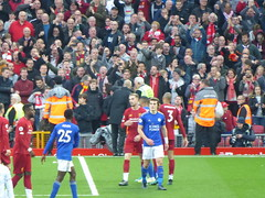 After the match (lcfcian1) Tags: liverpool leicester city lfc lcfc anfield stadium epl bpl premier league sport football liverpoolfc leicestercity liverpoolvleicester premierleague stadia