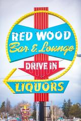 Red Wood Bar and Lounge (Thomas Hawk) Tags: america cheyenne redwoodbarlounge usa unitedstatesofamerica unitedstates wyoming bar neon neonsign fav10