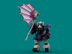 Beam Battle Axe (The Hydromancer) Tags: namofrafarmo mobile frame zero zaku beam battle axe