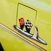 Chevrolet Bel Air Logo on Yellow