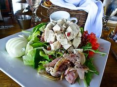 photo - Quinn's Cobb Salad, Quinn's Lighthouse (Jassy-50) Tags: photo california food cobbsalad salad quinnslighthouse quinns oakland restaurant turkey artichokehearts