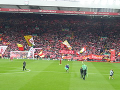 Anfield pre kick off (lcfcian1) Tags: liverpool leicester city lfc lcfc anfield stadium epl bpl premier league sport football liverpoolfc leicestercity liverpoolvleicester premierleague stadia