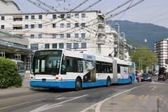2019-06-14, VMCV, Clarens, Dépôt VMCV (Fototak) Tags: trolleybus filobus obus vanhool vevey montreux switzerland vmcv ligne201 13