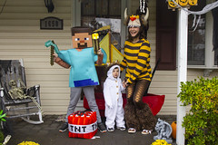 Halloween 2019 (klong35) Tags: halloween costume costumes max wherethewildthingsare wildthings minecraft steve
