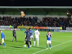 After the win (lcfcian1) Tags: burton albion leicester city league cup football england footy sport night game bafc lcfc pirelli stadium burtonalbion leicestercity burtonvleicester burtonalbionvleicestercity