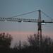 Building Construction Crane, Minneapolis