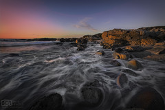 There we go (Dave Arnold Photo) Tags: ca cal calif california montereybay pacificgrove sunset beach pacificocean coast coastal sea wave high seascape landscape tidepool surf point cloud water west pic asilomar statepark statebeach picture us usa photo arnold photography photographer davearnold photograph davearnoldphotocom tide geology beautiful awesome viral fantastic top best wonderful canon mkiii 5d scene 1635mm splash sensational wet nature natural brilliant grove pebble loverspoint orange blue