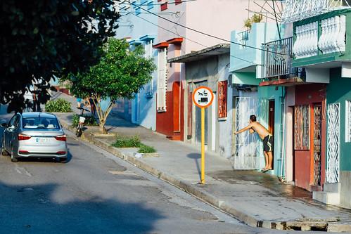 Street Scene, Cienfuegos Cuba