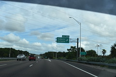 Deltona, FL- I-4 (jerseyman65) Tags: florida freeways roads routes interstates flroutes flroads flstateroads fl centralfl centralflorida flhighways flstateroutes expressways exits interchanges ramps signs guidesigns overheadsigns overheadgantries gantries