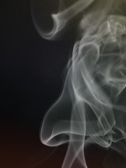 Smell the Aroma (clarkcg photography) Tags: sliderssunday smoke pinion aroma nose face pareidolia