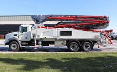 Putzmeister Concrete Pump Truck (raserf) Tags: putzmeister mack truck trucks pump pumper pumping concrete cement sturtevant wisconsin racine county