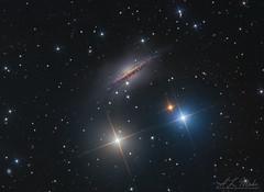 "NGC1055   LHaRGB (Steven Mohr) Tags: ngc1055 planewavecdk125"" stxl11002 astrophotography astrometrydotnet:id=nova3731785 astrometrydotnet:status=solved"