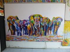 Elephant (kas-surfart) Tags: elephantpainting