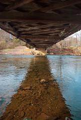 King's Bridge (JCTopping) Tags: onelanebridge autumn color bridge wooden reflection canon fall cold covered river span pennsylvania laurelhillcreek kingsbridge water 6d 19mm rockwood unitedstatesofamerica