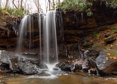 Cole Run Falls (JCTopping) Tags: forbesstateforest 6d creek waterfall river frozen water stream colerun pennsylvania canon statepark 24mm ice rockwood unitedstatesofamerica