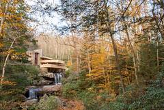 Fallingwater (JCTopping) Tags: autumn franklloydwright bearrun waterfall 24mm pennsylvania architecture 6d fallingwater fall canon trees millrun unitedstatesofamerica