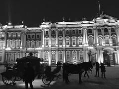 San Pietroburgo Saint-Petersburg (napoleone.bonaparte) Tags: xmas christmas december russia snow ice ermitage horse