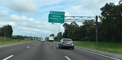 Deltona, FL- I-4 (jerseyman65) Tags: florida freeways roads routes interstates signs guidesigns overheadsigns overheadgantries centralfl centralflorida sunshinesstate fl highways expressways interchanges ramps