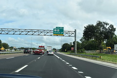 Sanford, FL- I-4 (jerseyman65) Tags: florida freeways roads routes interstates ushighways usroutes flroutes flroads flstateroads sunshinestate fl centralfl centralflorida expressways exits interchanges ramps flhighways flstateroutes signs guidesigns gantries overheadsigns overheadgantries highwaysanford fli4 highways