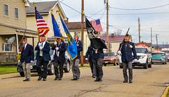 Veteran's Day Weekend (Explored 11-10-19) (brutus61534) Tags: veterans day toronto ohio small town life flag street americanlegion post86 parade