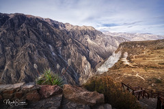 The Colca Canyon (marko.erman) Tags: colcacanyon latinamerica southamerica canyon deepest mountains highaltitude rocks cliffs impressive wideangle sony peru perspective pov travel outside outdoor