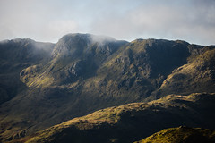 Crinkle crags (tonguedevil) Tags: landscape outdoor view countryside autumn nature hills mountains sky cloud lakedistrict cumbria greatlangdale colour light shadows sunlight