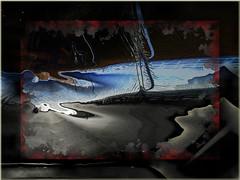 El puente (seguicollar) Tags: art arte artedigital texturas virginiaseguí imagencreativa photomanipulation filtrosforges carretera puente cielo