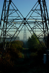 Electrified (Richard Oude Egbrink) Tags: powerlines electricity electrified pentaxian pentax almere buiten