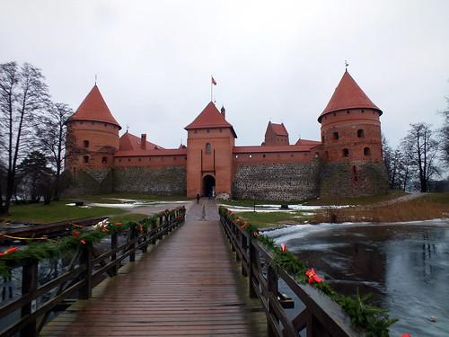 Trakų salos pilis / Burginsel Trakai - Litauen