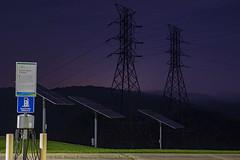 Power (Mr. Low Notes - Klassicwerk Photo) Tags: rebelsl1 100d tva sky outdoors powerlines power electric solor night