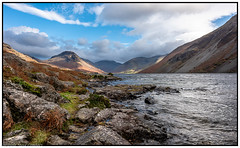 Wast Water, Cumbria. (steve.gombocz) Tags: landscape nikon nikond810 nikoneurope nikoncamera nikkor nikonfx nikon140240mmf28 cumbria westcumbria colour colours color natureisbeautiful lakedistrict out outandabout landscapephotos landscapephotography landscapephotographs water reservoirs scenery landscapescenes mountains hills crags fells nature wastwater lakescenes landscapepictures nicepictures nicelandscapes lakes