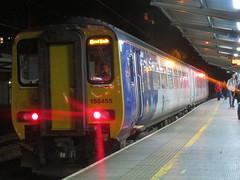 Northern Rail 156 at Preston (deltrems) Tags: arriva northern rail railway train dmu diesel multiple unit class156 super sprinter preston lancashire station public transport