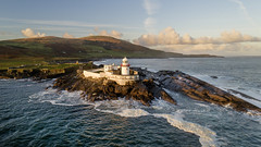 Dawn light, Valentia Island Lighthouse, Kerry. (Sean Hartwell Photography) Tags: ocean ireland light irish lighthouse island kerry atlantic countykerry valentia wildatlanticway sea sunrise dawn rocks