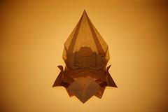 Origami Buddha on Lotus (Kunihiko Kasahara) (De Rode Olifant) Tags: origami origamibuddha 3d paperfolding kunihikokasahara marjansmeijsters paper diagrams buda origamibuda lotus origamilotus kasahara marikanegae aartedosmetresdeorigami easternreligions religionsandholidays
