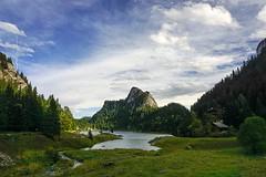 Le Lac de Tanay (6line8) Tags: tanney lac lactanney montagne mountain switzerland valais wallis