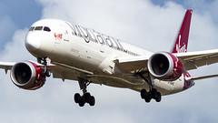 Boeing 787-9 Dreamliner G-VWHO Virgin Atlantic Airways (William Musculus) Tags: london heathrow lhr egll spotting aviation plane airplane william musculus gvwho virgin atlantic airways boeing 7879 dreamliner vs vir